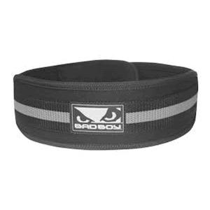 4 Inch Lifting Belt (Black/Grey)