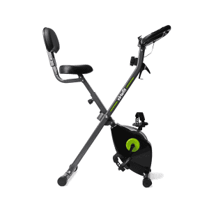 VirtuFit Opvouwbare Hometrainer met Rugleuning en Tablethouder